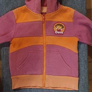 Size 3 Nickelodeon Dora The Explorer jumper